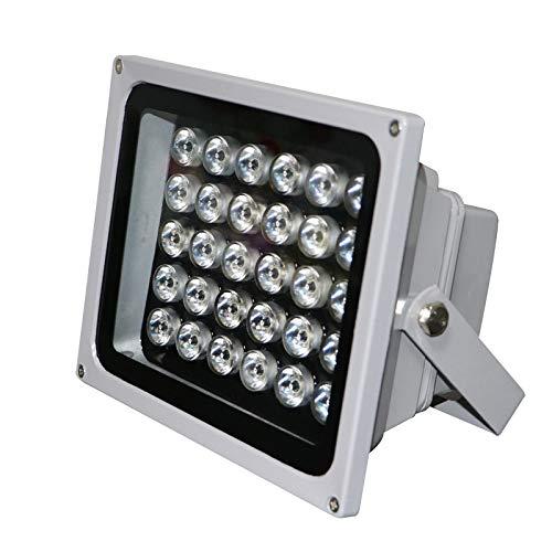 HJF LED Spotlight, Außenbeleuchtung Gartenlampe Flutlicht Scheinwerfer Außenlampe Sicherheitslampe wasserdicht Niederspannung 12V 24V -