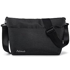 0e8a343102 Borsa a Tracolla Uomo Borsello Piccolo Impermeabile Messenger Bag Casual  Borse a Spalla in Oxford Messaggero ...