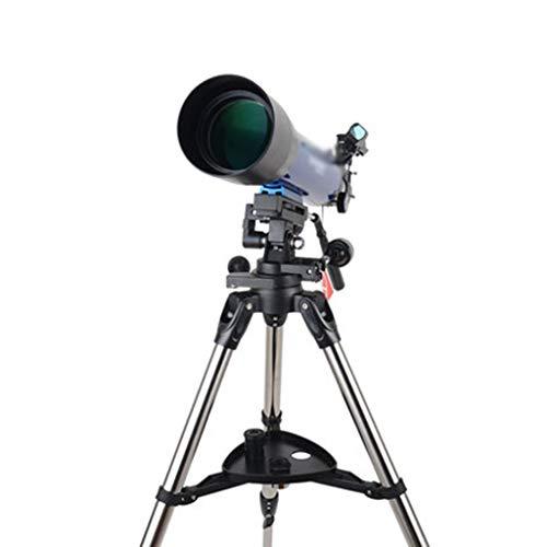 Teleskope Astronomisches tragbares Outdoor-Reiseteleskop for Kinder und Jugendliche geeignet (Color : Blue, Size : 130 * 60cm)