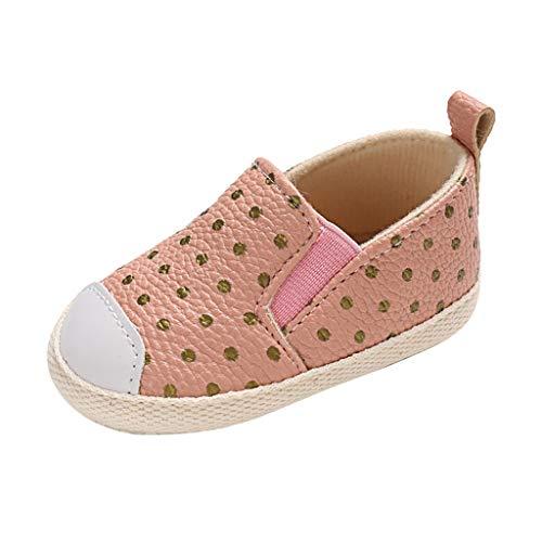 Dtuta Baby MäNnliche Und Weibliche Baby Welle Punkt Elastische Dehnung Einen Fuß Kleinkind Schuhe Einzelne Schuhe Baotou Schuhe Sportschuhe Freizeitschuhe