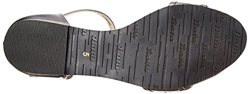 BATA Women's Jayma Silver Fashion Sandals-7 UK/India (40 EU) (5612075)
