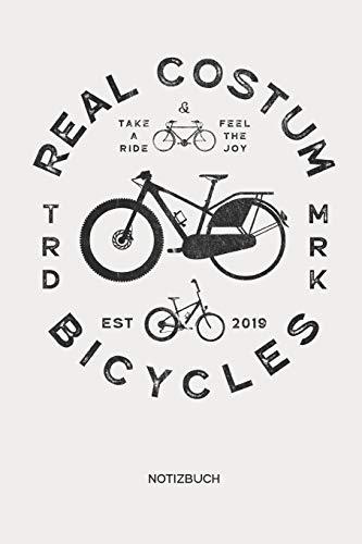 Notizbuch: Fahrrad Notizbuch | Geschenk für Radsportler, Fixie Fahrrad, Mountainbike und Rennrad Fans, Kinder, Jugendliche, Frauen und Männer ()
