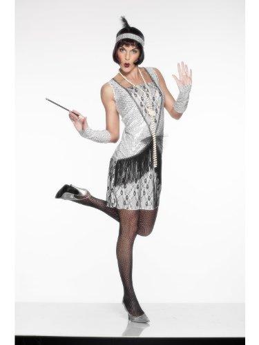 Weibliche 1920ist Fancy Kleid Flapper Kostüm Kleid UK - 1920 Kostüm Weiblich