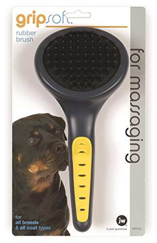 Artikelbild: JW Gripsoft Rubber Grooming Brush for Dogs