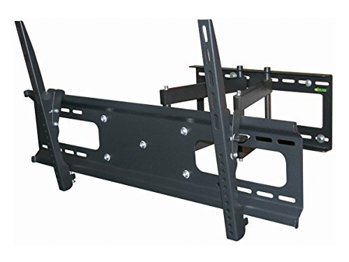 Black Full-Motion Tilt/Swivel Wall Mount Bracket for LG 42PN4500 42