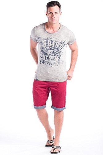 Koroshi Herren T-Shirt ekrü