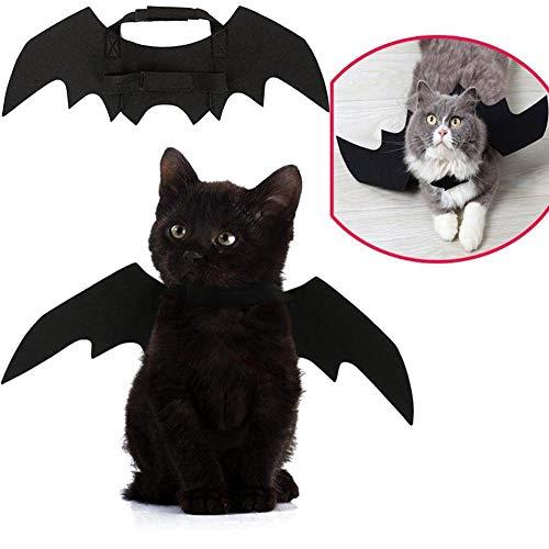 Fliegendes Licht für Hunde und Katzen, Fledermausflügel, Cosplay-Requisite für Halloween-Party