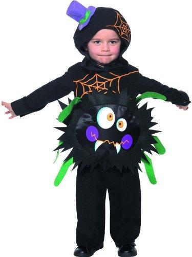 Children's Animal Fancy Dress Crazy Spider Costume Toddler Age 1-2 (Kleinkinder Für Spider-kostüm)