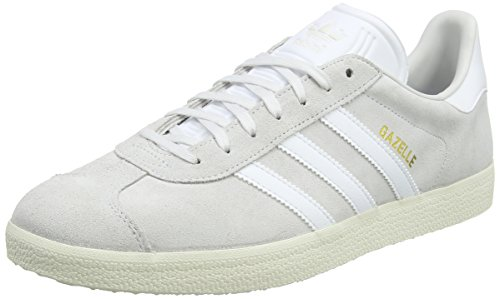 Adidas Originals Gazelle, Zapatillas Unisex Adulto, Varios Colores (Trace Green/Off White/Footwear White), 46 2/3 EU