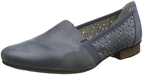 Rieker 51995-12 Damen Slipper Halbschuh, Größe 40 - 12 Halbschuhe Damen Schuhe