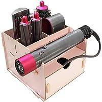 Caja de almacenamiento para Dyson Airwrap Styler pelo rizador accesorios caso titular escritorio encimera backet para