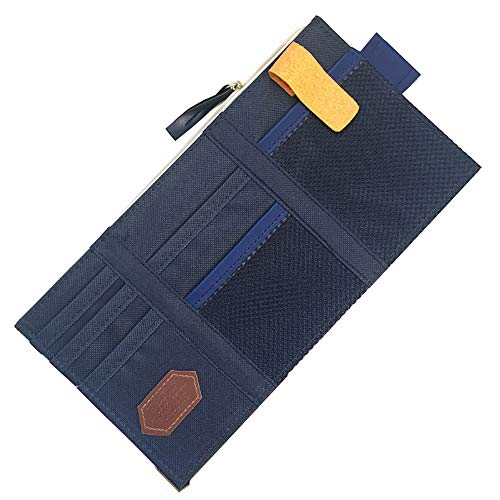 Multifunktions-Auto Sonnenblende Storage Point Pocket Organizer Tasche Kartenhalter -