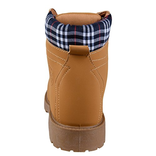 Uncle Sam Herren Boots in Braun Camel