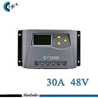 30a 48V portatile PWM Solar Charge controller per pannello solare batteria regolatore Home interni - Trova i prezzi più bassi