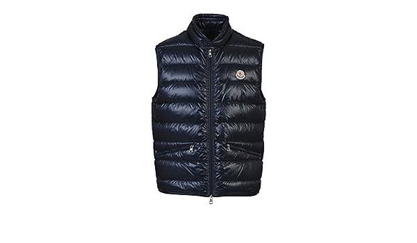 73dece0f676d Moncler Men s 433619953029776 Blue Polyamide Vest  Amazon.co.uk ...