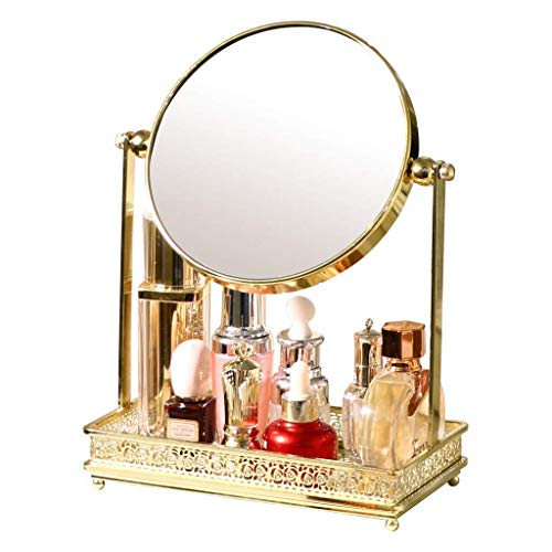 ssing-Tischplatte, Doppelseitiger Kosmetikspiegel für Den Desktop ()