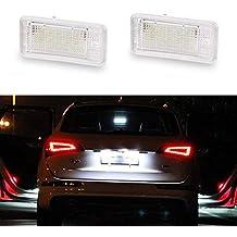 GOFORJUMP 2 Unids 12 V Blanco 18 LED Número Lámpara de la luz de la Placa