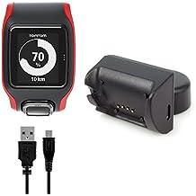 BlueBeach® Sostituzione TomTom Runner GPS / Multi-Sport Cardio USB Caricatore Cavo di Ricarica Caricabatterie (TomTom Runner 2 / 3 e Spark 1 / 3 Non Compatibile)