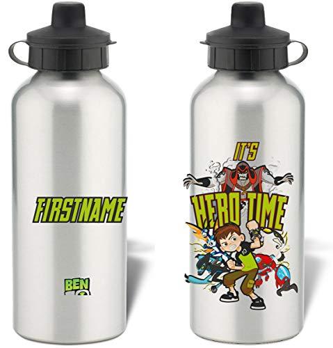 Cartoon Network personalisierbar Ben 10Hero Zeit Badge Wasser Flasche (Network Zeichen Cartoon)