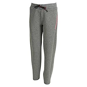 Athlitech Chrom Core Pant Kids – Laufhosen – Sporty Girl – Winter Grey pink