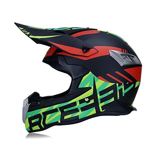 Alvyu Casco de Motocross, Motocicleta MX para Adultos, Casco...
