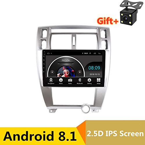 25,7 cm (10,1 Zoll) 2.5D IPS Display Android 8.1 Auto DVD Player GPS für Hyundai Tucson 2006 bis 2012 2013 Audio Autoradio Stereo Bluetooth WLAN (Hyundai Dvd-player)