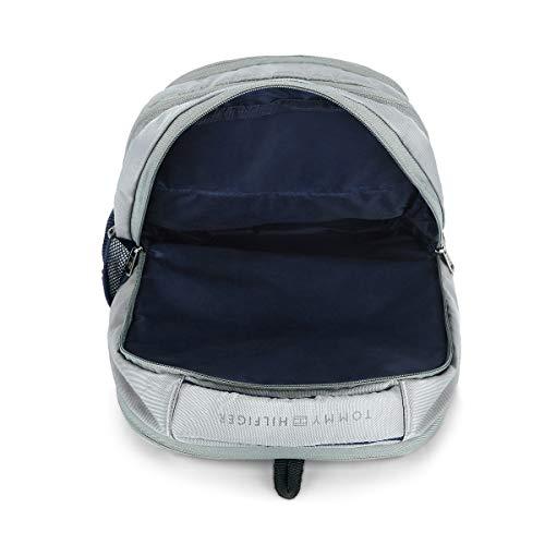 Tommy Hilfiger Rene 25 Ltrs Light Grey Laptop Backpack (TH/RENELAP07) Image 6