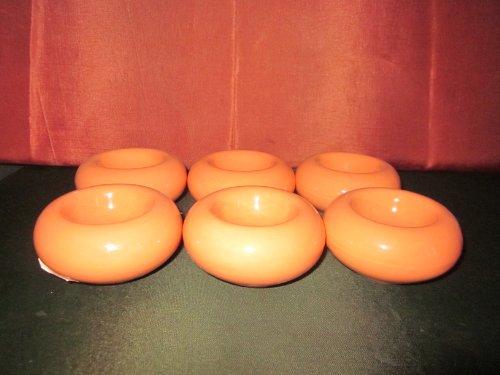 V&B Gallo 6 Eierbecher orange runde Form gebraucht kaufen  Wird an jeden Ort in Deutschland