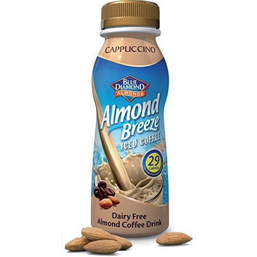 (Pack of 8) Blue Diamond - Almond Breeze Cappuccino Iced 250 ML Test