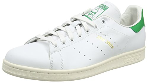 Adidas Stan Smith, Baskets Basses Pour Homme Blanc (chaussures Blanc / Chaussures Blanc / Vert)