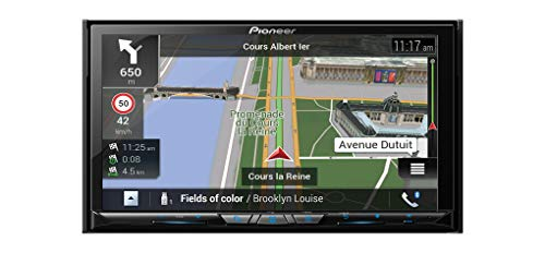 Pioneer AVIC-Z820DAB inkl. DAB-Antenne/Navigation mit Bluetooth, CarPlay, AndroidAuto, USB, WiFi (Navigation Pioneer System)