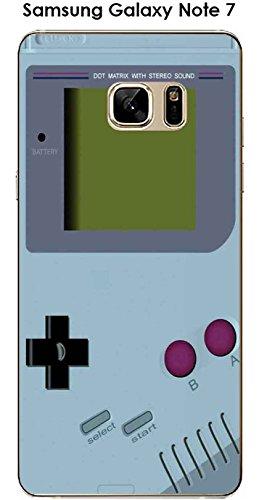 Onozo cover samsung galaxy note 7design game boy aquamarine