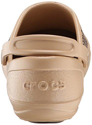 Crocs Mercy Work, Sabots - Femme Or