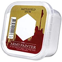 The Army Painter | Battlefield Essential Series | Snow for Miniature Bases and Wargame Terrains | Bases of Miniature Toys