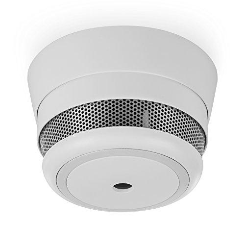 Smartwares Smart Home Pro | Funk Rauchmelder zur Smart Home Pro Serie, steuerbar via gratis HomeWizard Link App, Basisstation muss vorhanden sein, weiß