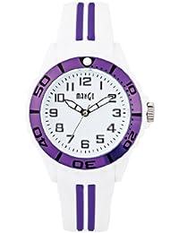 Mango A68359-3H0A - Reloj para mujeres, correa de silicona