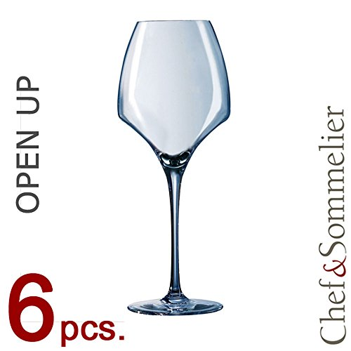 6 VERRES A VIN UNIVERSAL TASTING 40 cl CHEF & SOMMELIER GAMME OPEN UP