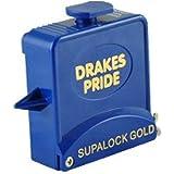 Drakes Pride Supalock Gold bowls measure - blue