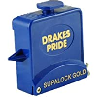 Drakes Pride Supalock Gold 9ft String Bowls Measure plus Calipers