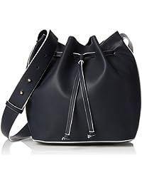 French Connection Damen Chelsea Bucket Bag Schultertasche, 40.5x16x1 cm