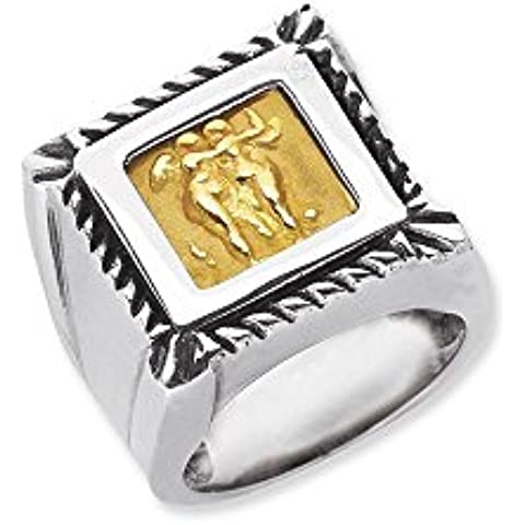 Sterling Argento 18ct, misura N 1/2veneziana Cameo Pendant–JewelryWeb
