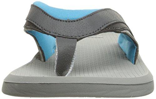 DC Shoes Men's Recoil Flip Flops Sandals Gray (gbf)
