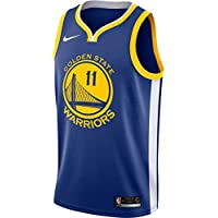 Nike NBA Golden State Warriors Klay Thompson 11 2017 2018 Icon Edition Jersey Official, Camiseta