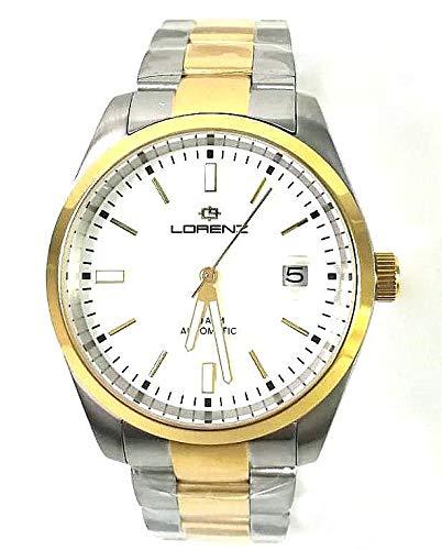 Orologio uomo Lorenz Ginevra automatico 030135AA bicolore