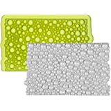 7horse Bubble Onlay Lace Mat for Cake Borders Sugar Craft Lace Mix Fondant Cake Decorating (Multi)