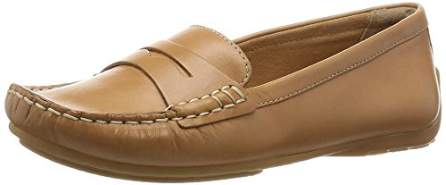 Clarks Doraville Nest, Damen Mokassin, Braun (Tan Leather), 38 EU (5 Damen UK)