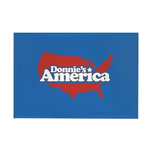 CafePress - Donnie's America Continent - Rechteckiger Magnet, 5,1 x 7,6 cm Kühlschrankmagnet