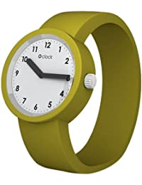 Fullspot Oclock OCNW11-L - Reloj unisex, correa de silicona color verde