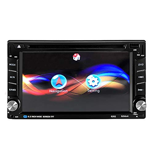 ZXZXZX Dual-Din-Autoradio Mit Navi,6,95-Zoll-HD-Android 4-Core-Auto-DVD-Radio-Multimedia-Player GPS-Navigation Universal -