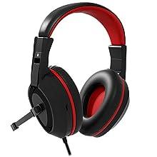 Mars Gaming Headphones MAH1V2 Auriculares Black